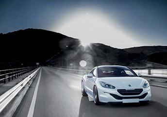 white avis car