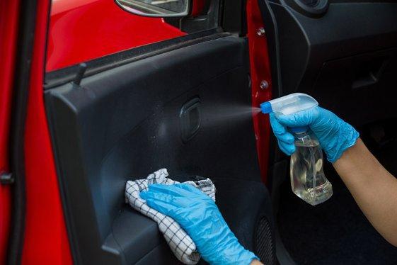 Avis Safety Pledge - Clean Car