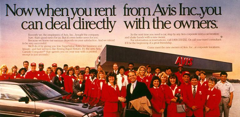 1980's Avis