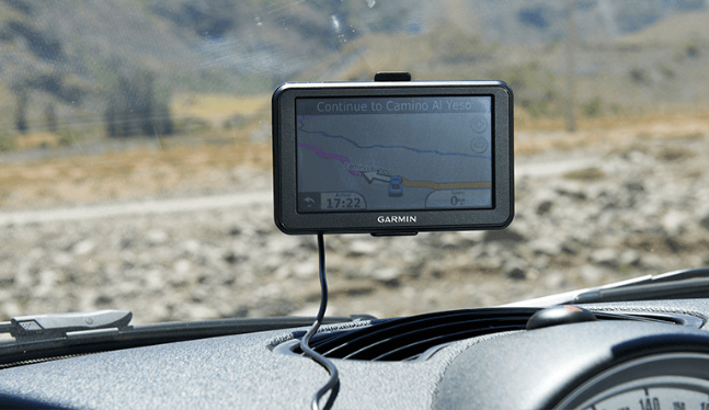 GPS system from Garmin